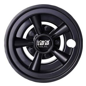 Black color wheel hub