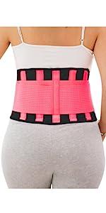 back brace pink