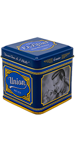 Union Original Pomade For Men 4oz Beautifully Crafted Tin All Day Firm Hold Easily Washes Out With Water High Shine Amazing Scent Ideal For Gripping And Defining Pompadours