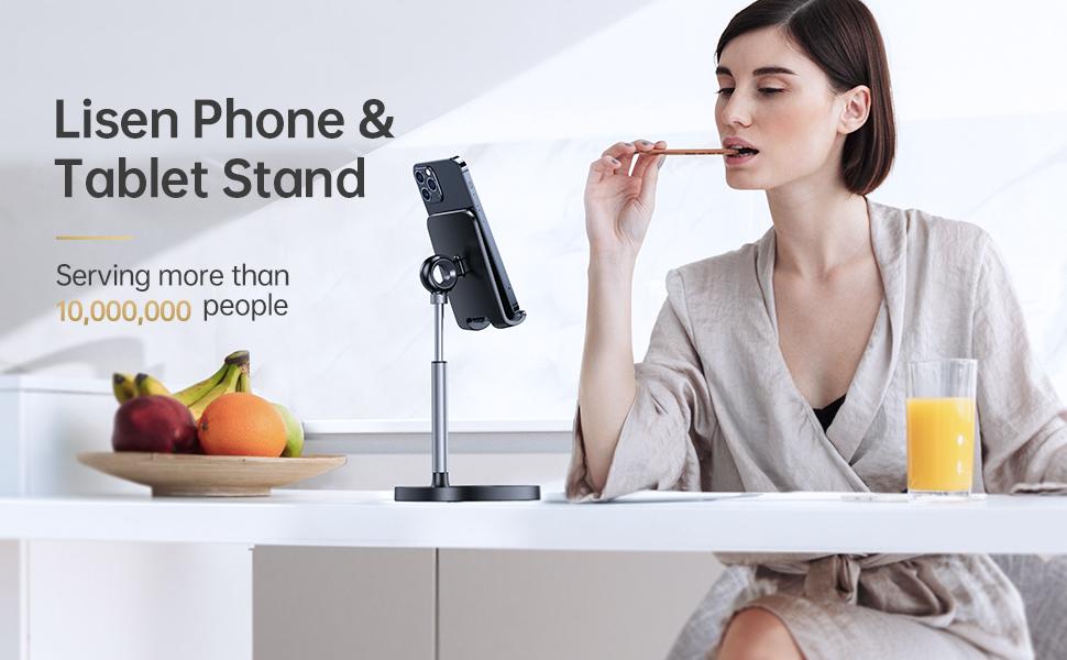 Metal phone stand holder aluminum alloy