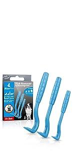 BluePet Tick Trick Zeckenhaken Zeckenentferner Zecken Zeckenpinzette Zeckenkarte Zeckenhalsband