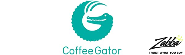 Coffee Gator Zabba Trust What You Buy