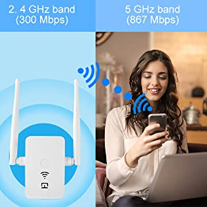 Extends Dual-Band Wi-Fi
