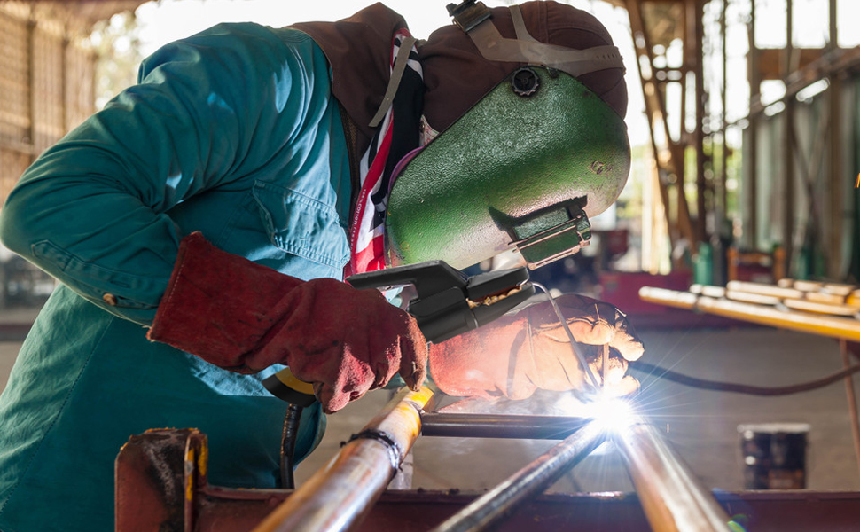 800A ARC Welding Electrode Holder Heavy Duty Full Copper Solid Brass for welder