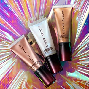 face primer makeup glossy glow smooth moisturize skin foundation illuminating effect