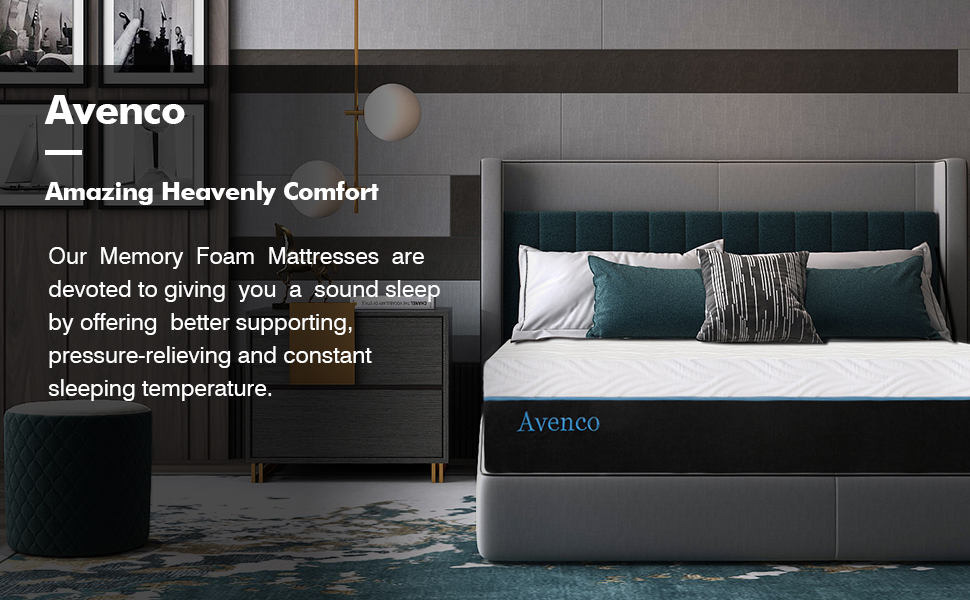 Our memory foam mattresses are devoted to giving you better supporting, pressure-relieving, cooling