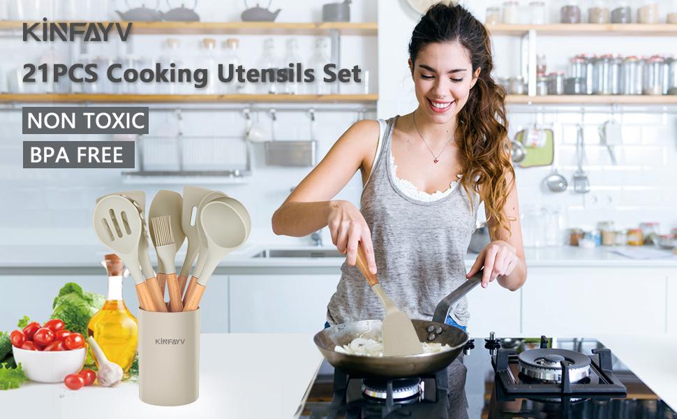 cooking utensils set kitchen utensils set cooking utensils kitchen utensils spoons spatulas