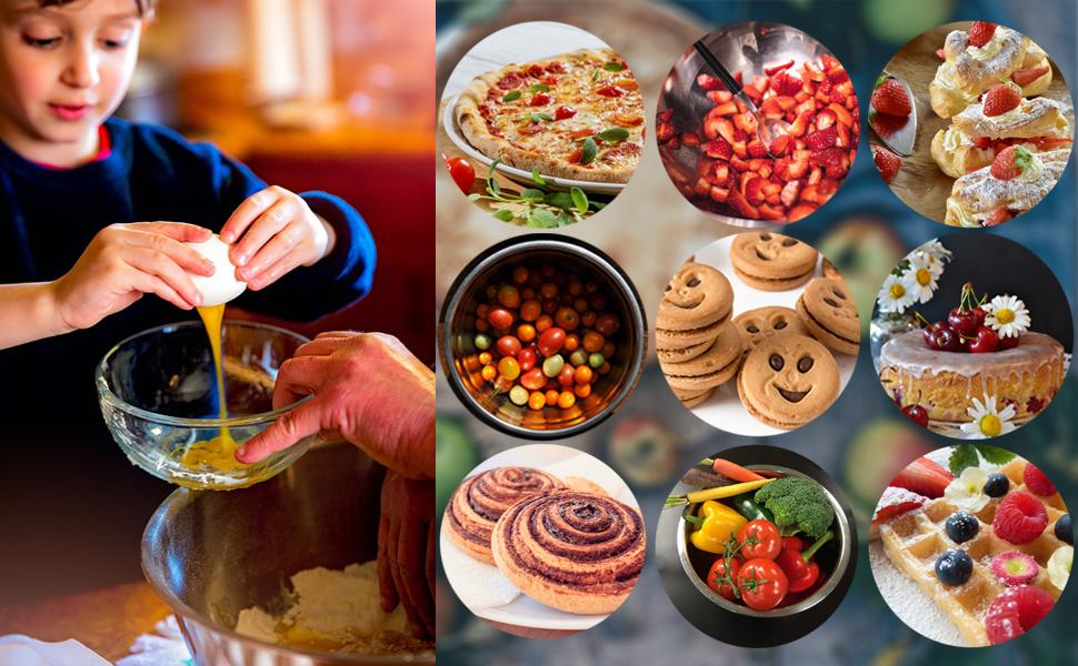 Le nostre ciotole di alta qualità sono ideali per tutte le vostre esigenze di cottura e cottura.