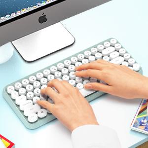 typewriter inspired keyboard