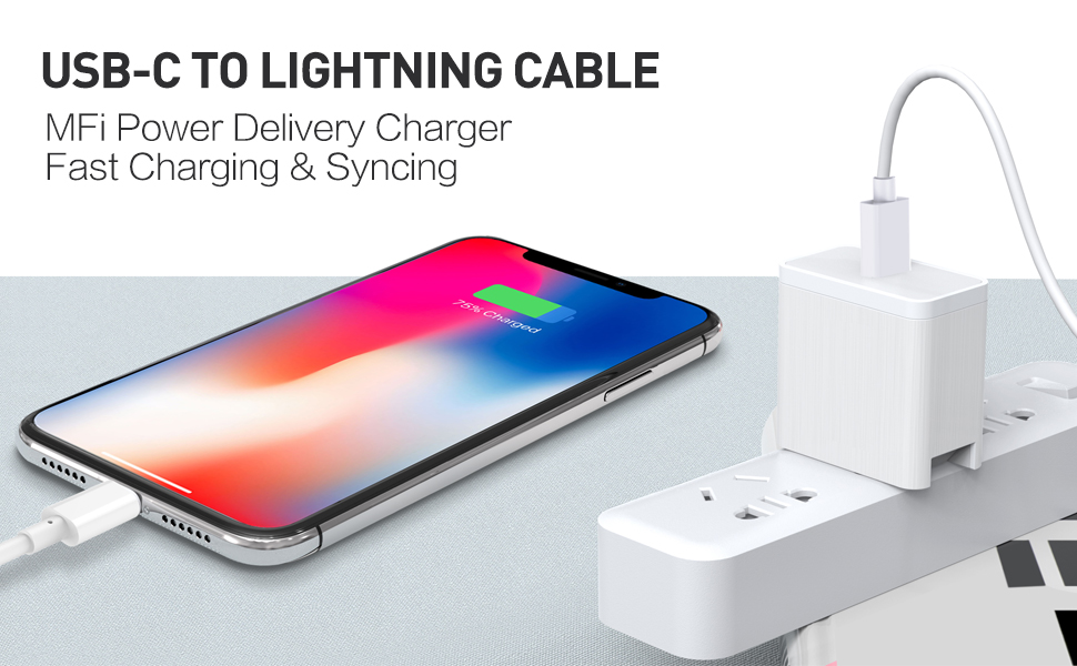 Amazon.com: Suswillhit USB C to Lightning Cable 3Ft Apple MFi Certified  Power Delivery Fast Charger Cord for iPhone 12/12 Mini/12 Pro/12 Pro Max/11  Pro/11 Pro Max/X/XS/XR/XS Max/8/8 Plus/iPad/AirPods: Industrial & Scientific