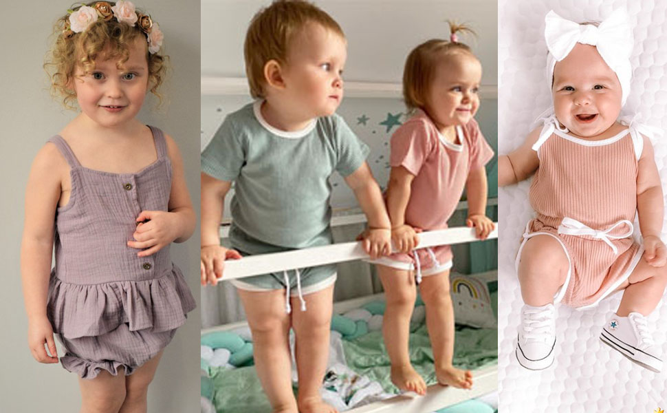 Babys Summer Cotton Outfits