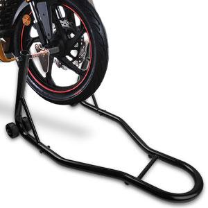 Adjustable Pedestal Stand-Side Kick-Racing Bike Sides Stand Bike Black New