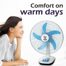 Comfort on Warm Days