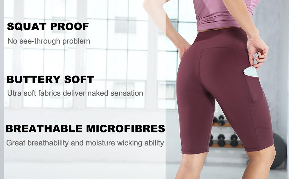 yoga shorts for women