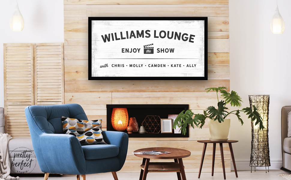 Custom Home Theater Sign Movie Theater Decor