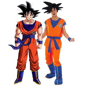 Coolchange Dragon Ball Son Goku Super Saiyajin Blue Kinder Kostum Grosse 116 Amazon De Spielzeug