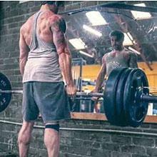 GYMAPE Herren Gym Sport Bodybuilding Workout Shorts 3 Zoll mit Raw Hem Design Camo-Serie