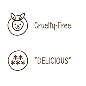 Cruelty Free, and Delicious Tasting