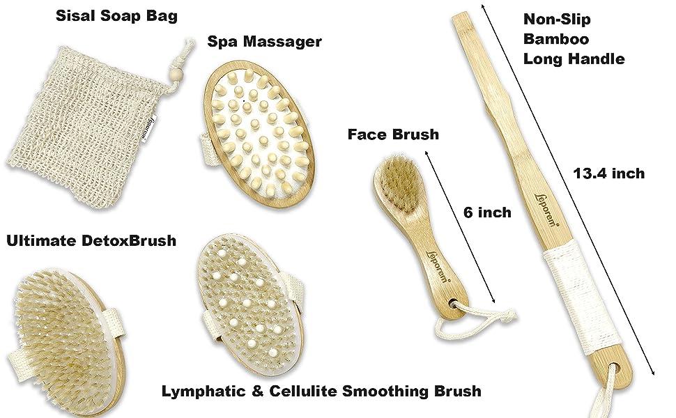 replacements improve japan kit kabuki premium lymph lymphatic loofah medium machine massage massager