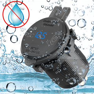 USB charger  fully sealed protective cap 100% waterproof  dustproof  ships, boats and motorcycles