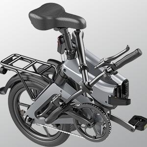 25b68d8d 3c2a 4b48 b954 b2d4f8c205bf. HITWAY Bici elettrica Leggera da 250 W Pieghevole elettrica con pedalata assistita con Batteria da 7,5 Ah, 16 Pollici, per Adolescenti e Adulti
