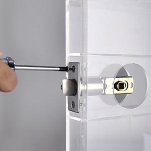 smart lock room door