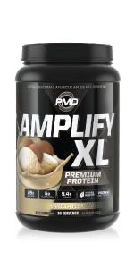 Amplify XL's superior bioavailability and advanced formulation provides over 25g of quality protein