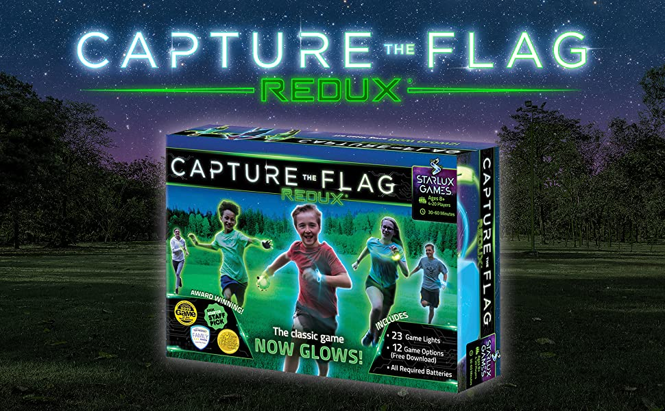 capture the flag redux outdoor game for kids and teens a glow in the dark adventure game