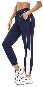 Pantaloni da Jogging Uomo per Yoga Fitness Pilates Pantaloni Lunghi Casual Uomo in Poliestere Aiboria Pantaloni Sportivi da Uomo