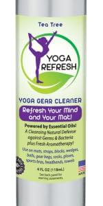 Yoga Spray mat refresher odor eliminator