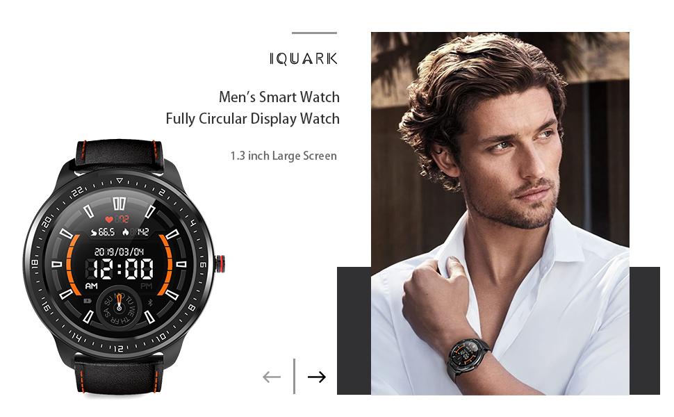 iQuark Smart Watch for men