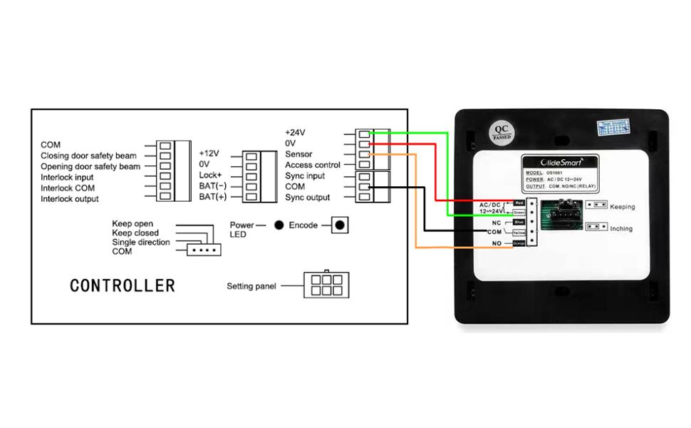 Amazon Com Olide Dsw120 Low Energy Handicap Automatic Swing Door Operator For A Single Door Smart Wi Fi Push Button Phone App Control Compatible With Alexa Google Speaker Handicap Push Buttons Home Improvement