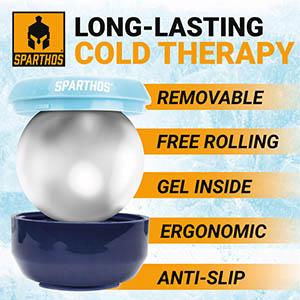 cryosphere cold massage roller ball ice massage roller manual massage ball