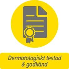 Dermatologiskt testad & godkänd