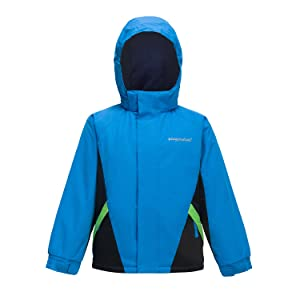 NEXT Boys Green//Blue Puffer Padded Jacket 2-3 Years Winter Hood twins