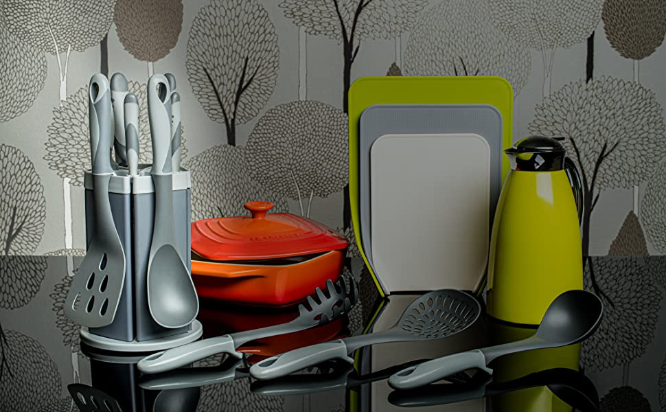 Grey Tone Colour to Compliment Your Cooking Accessories