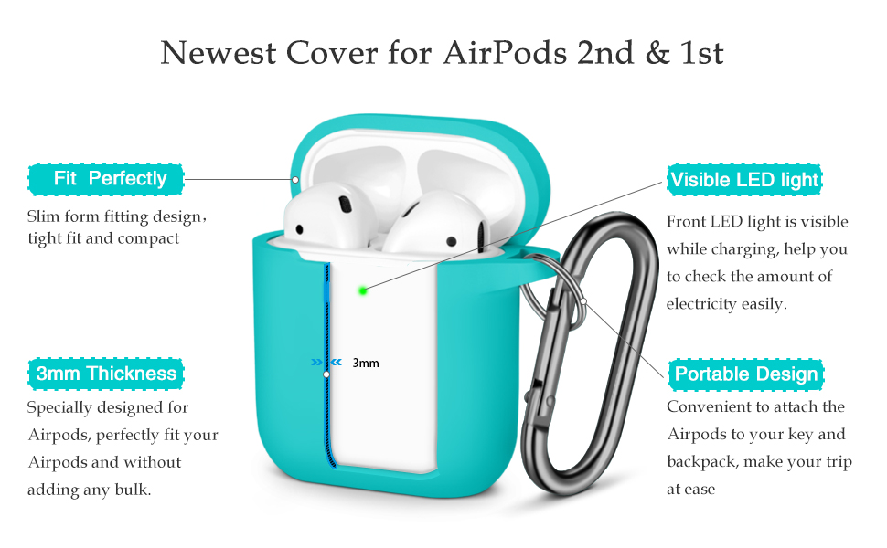 yellow silicone case for airpods 2