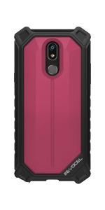 LG Stylo 5 Pink Phone Case - Evocel - EvoGuard Series