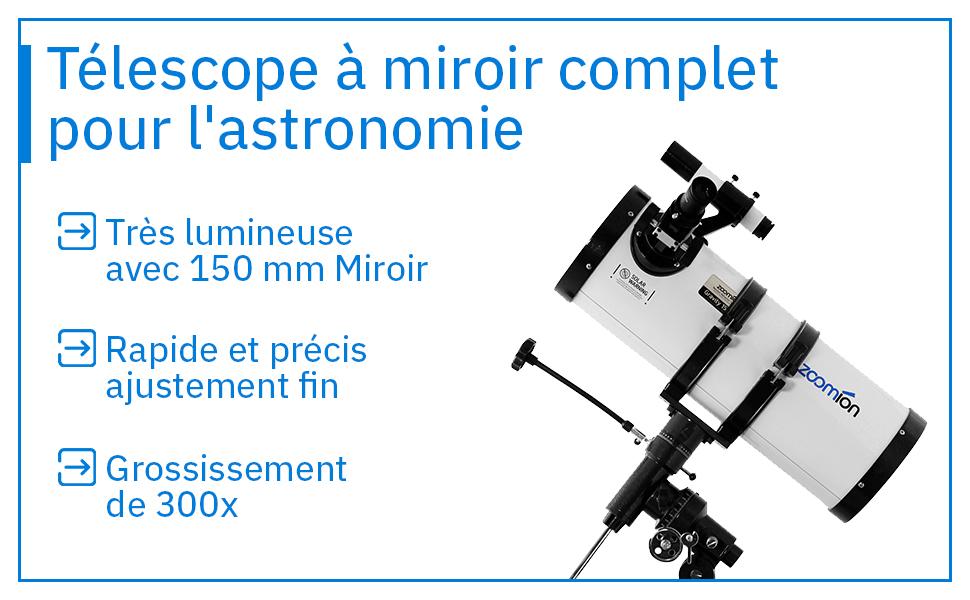 Telescope a miroir
