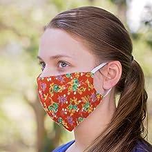chunky chuckles face mask women men cotton cloth reusable washable