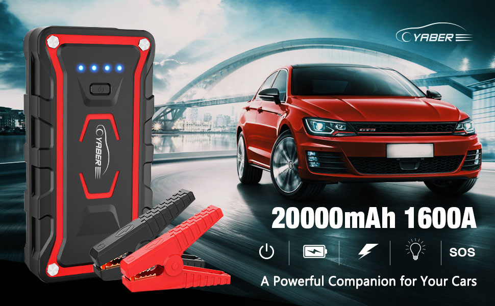 jump starter, battery jump starter, battery jumper, car jumper