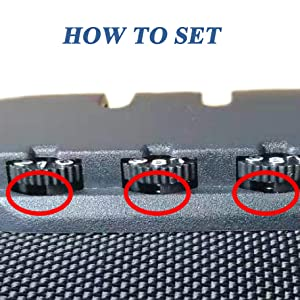 HOW TO SET
