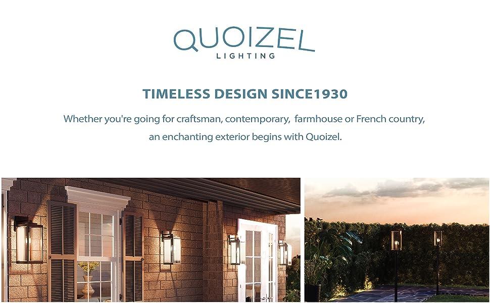 quoziel lighting, outdoor wall lighting, indoor and outdoor pendant, heavy duty outdoor lighting