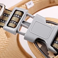 Always Secured with 2 Fast-Release Buckles