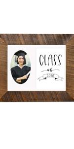 Class of 2020 graduation picture frame high school grad graduate college school teenager
