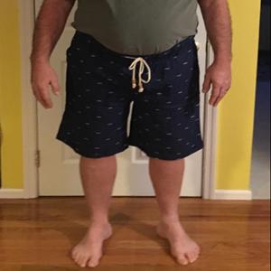 The Losers Club Emblem Mens Casual Classic Fit Short Summer Beach Shorts