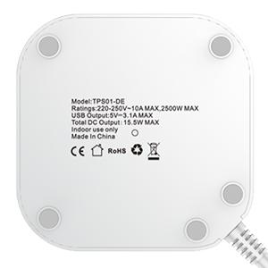 steckdosenleiste überspannungsschutz mehrfachsteckdose überspannungsschutz steckdosenturm Schalter