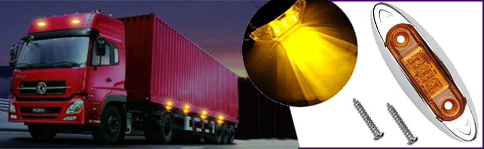 NBWDY LED side maker light for truck