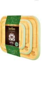 Rounded Cutting Board Set, Green