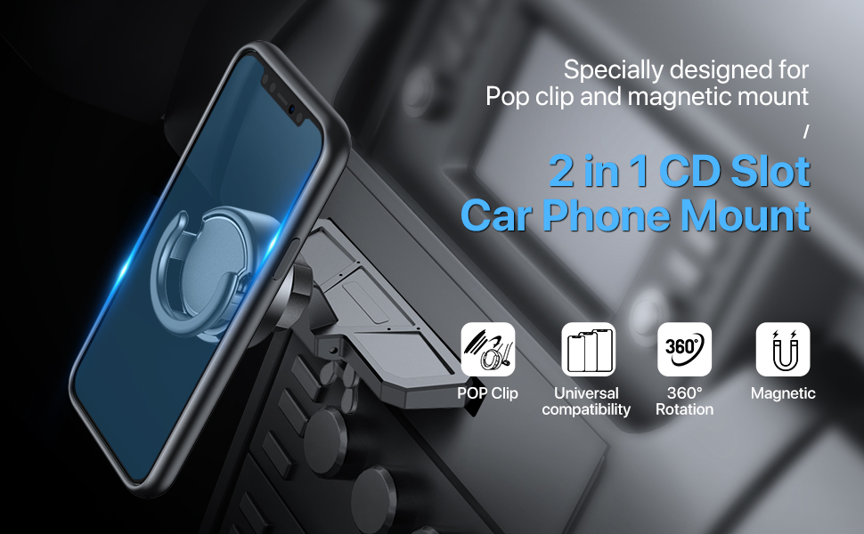 Miracase CD Slot Car Phone Mount